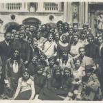 52 Ondina giovane foto di gruppo divisa NO milit