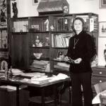 Ondina biblioteca casa anni ottanta