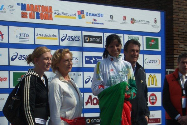 Maratona di Roma 18-03-2007 - premio ondina valla